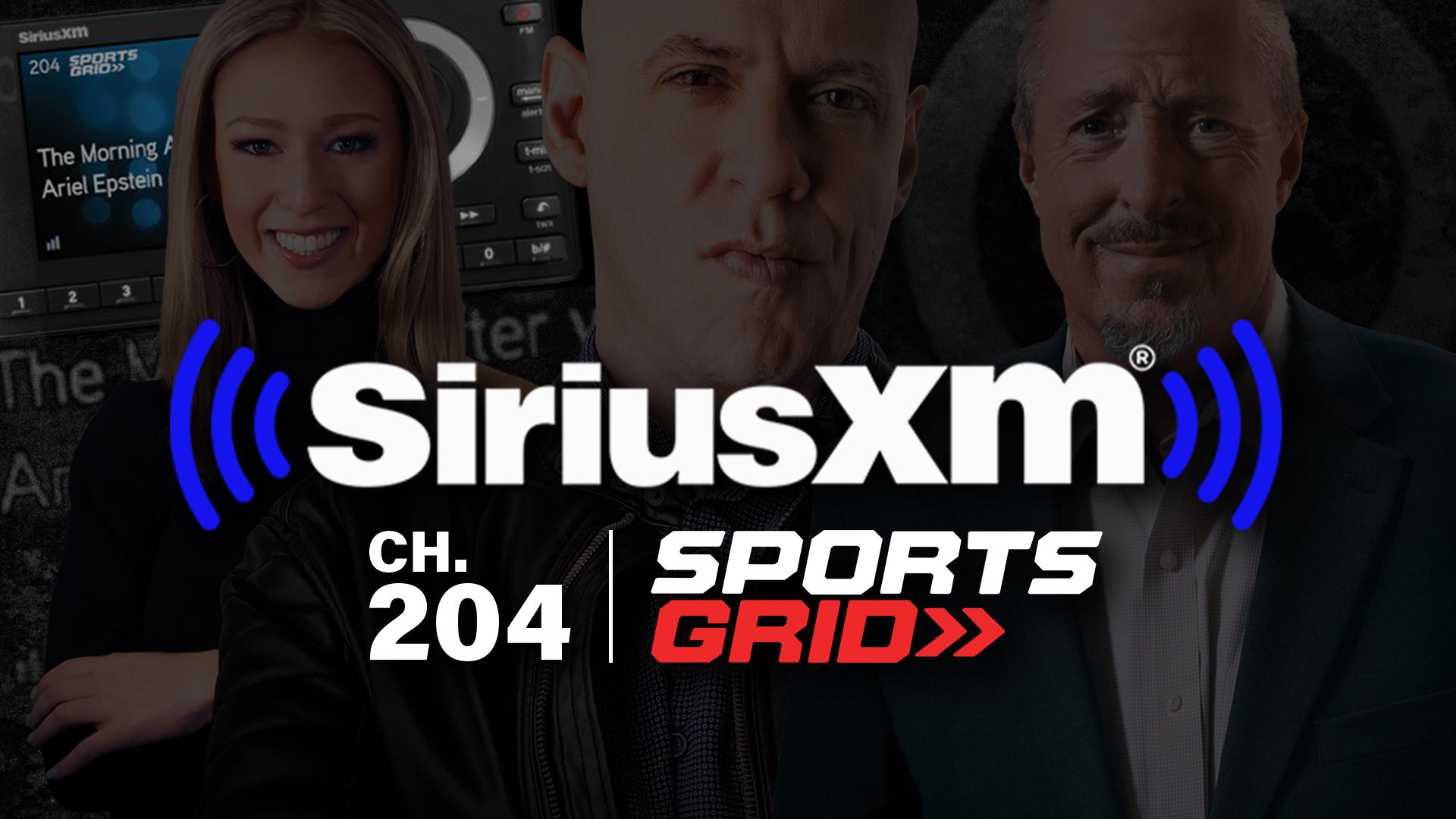 SportsGrid Radio Launches on SiriusXM Channel 204