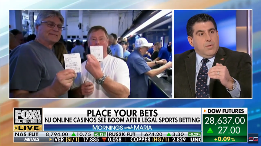 SportsGrid CEO Lou Maione Predicts Online Sports Gambling to be Worth $250B by 2024